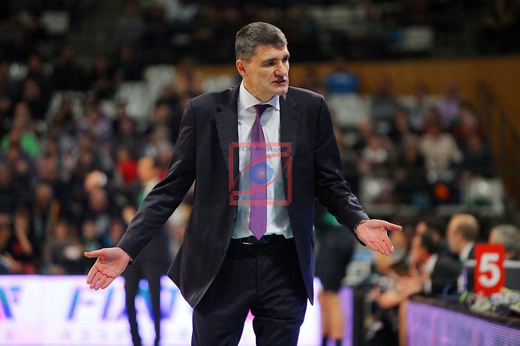 League ACB-Endesa 2015-2016. Game: 16.<br /> FIATC Joventut vs Laboral Kutxa Baskonia: 68-89.<br /> Perasovic.