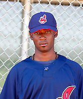 Jesus Brito - Cleveland Indians 2009 Instructional League. .Photo by:  Bill Mitchell/Four Seam Images..