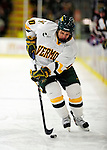 6 November 2009: University of Vermont Catamount forward Colin Vock, a Senior from Detroit, MI, in second period action against the University of Massachusetts River Hawks at Gutterson Fieldhouse in Burlington, Vermont. The Hockey East rivals battled to a 3-3 tie. Mandatory Credit: Ed Wolfstein Photo