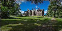 BNPS.co.uk (01202 558833)<br /> Picture: RobGrangePhotography/BNPS<br /> <br /> The rare chance to live a castaway lifestyle yet be only a stone's throw from civilisation has become available after a tiny island went on the market.<br /> <br /> Derwent Island is a secluded seven acre retreat that has an 18th century home hidden among the woodland.<br /> <br /> The isle sits just 150 yards from the shoreline of the Lake District's Derwent Water and half-a-mile from the busy town of Keswick.<br /> <br /> The unique location is owned by the National Trust which rent's out the the grade II listed, six bed property on a long term let for in excess of &pound;40,000 a year.<br /> <br /> The lease has become available for the first time in 10 years.