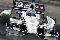 Baltimore -September 2:  Ryan Briscoe (2) during the warmup sessionBaltimore Grand Prix at the Baltimore Temporary Street Course on September 2, 2012 in Baltimore, Maryland (Ryan Lasek/Eclipse Sportswire)