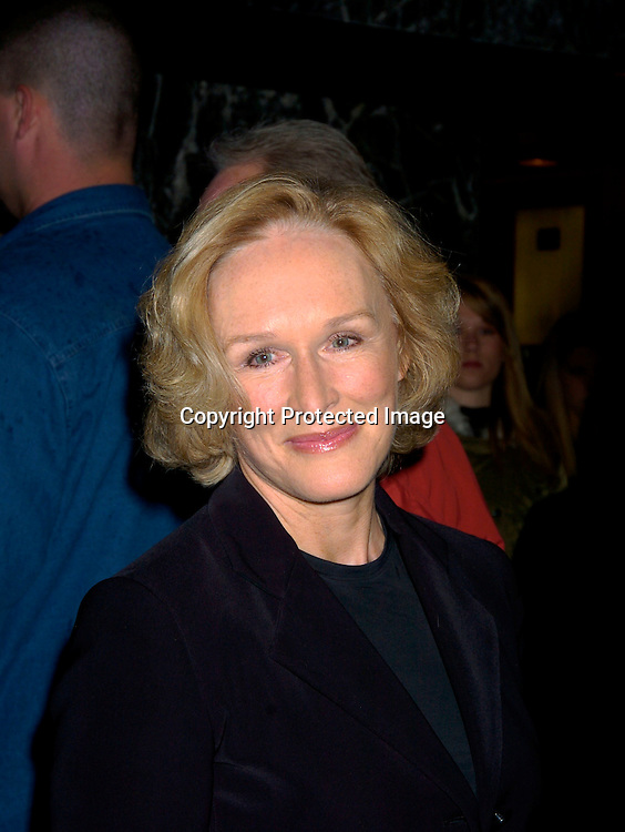 Glenn Close ..at the 15th Annual GLAAD Media Awards on April 12, 2004 ..at the Marriott Marquis Hotel. ..Photo by Robin Platzer, Twin Images