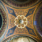 Interior, Cathedral Saint Alexandar Nevski, Sofia, Bulgaria