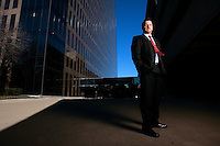 Steve Gossett Jr, CEO, Transend Equity Development, Dallas, TX<br /> Photo by Chris Covatta