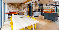 BNPS.co.uk (01202) 558833. <br /> Pic: Strutt&Parker/BNPS<br /> <br /> Kitchen/diner. <br /> <br /> Have Nessie for a neighbour...<br /> <br /> A beautifully-restored 19th century farmstead just minutes from Loch Ness with stunning Highland views is on the market for £675,000.<br /> <br /> The Steading is in the ancient village of Dores and has been lovingly restored and transformed to create a stylish yet cosy home.<br /> <br /> The house is just a few minutes' walk from the beach at Dores and on a clear day from the shore you can see all the way to the opposite end of the iconic loch - 25 miles away at Fort Augustus - which would be a perfect spot to hunt for its famous monster.<br /> <br /> The Steading would be an ideal property for someone looking for a peaceful, rural retreat in the Scottish Highlands, or could be a good investment property to rent out to holidaymakers.