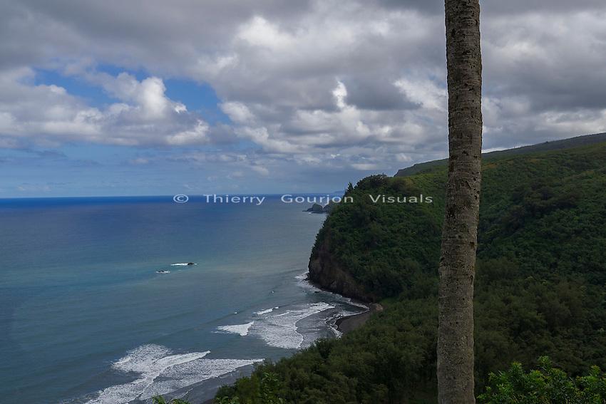 Pololu Valley, Big Island, Hawaii. Jan. 2015. Photo by Thierry Gourjon.