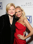 Mary-Mitchell Campbell and Kristin Chenoweth attend the Opening Night celebration for Kristin Chenoweth - 'My Love Letter To Broadway'  at the Bar Sixty Five at the Rainbow Room Bar on November 2, 2016 in New York City.