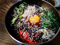 Reis-Gemüse Gericht Bibimbab in Jeonju, Provinz Jeollabuk-do, Südkorea, Asien<br /> rice-vegetable dish Bibimbab  in Jeonju, province Jeollabuk-do, South Korea, Asia
