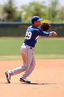 Chris Henderson, Los Angeles Dodgers 2010 extended spring training..Photo by:  Bill Mitchell/Four Seam Images.