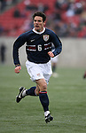 Heath Pearce, of the United States, on Sunday, February 19th, 2005 at Pizza Hut Park in Frisco, Texas. The United States Men's National Team defeated Guatemala 4-0 in a men's international friendly.