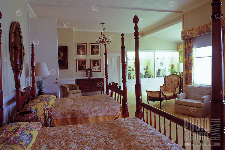 A large furnished room at historical Parker Ranch on the Big Island