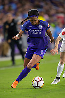 Orlando, FL - Saturday March 24, 2018: Orlando Pride forward Sydney Leroux (2) during a regular season National Women's Soccer League (NWSL) match between the Orlando Pride and the Utah Royals FC at Orlando City Stadium. The game ended in a 1-1 draw.