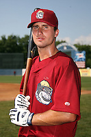 June 24, 2009:  Greg Folgia of the Mahoning Valley Scrappers during a game at Eastwood Field in Niles, OH.  The Scrappers are the NY-Penn League Short-Season Single-A affiliate of the Cleveland Indians.  Photo by:  Mike Janes/Four Seam Images