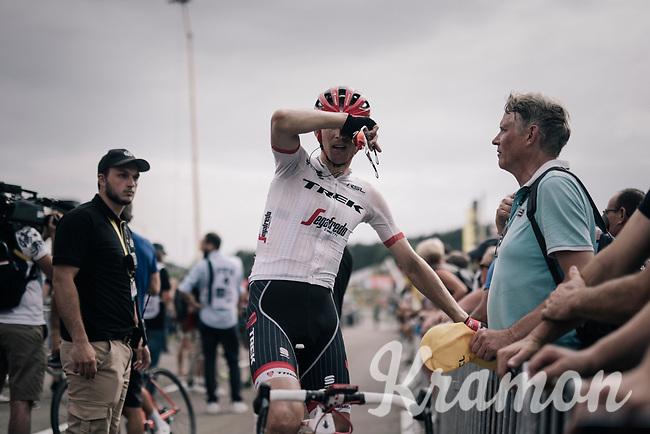 Bauke Mollema (NED/Trek-Segafredo) after the stage<br /> <br /> 104th Tour de France 2017<br /> Stage 8 - Dole &rsaquo; Station des Rousses (187km)