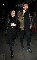 Samantha Barks and Jack Fox at the Ivy Chelsea Garden's Winter Garden launch party, The Ivy Chelsea Garden, King's Road, London, England, UK, on Sunday 05 November 2017.<br /> CAP/CAN<br /> &copy;CAN/Capital Pictures