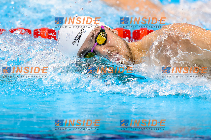 Stephen MILNE GBR<br /> 400m Freestyle Men <br /> London, Queen Elizabeth II Olympic Park Pool <br /> LEN 2016 European Aquatics Elite Championships <br /> Diving  <br /> Day 08 16-05-2016<br /> Photo Andrea Staccioli/Deepbluemedia/Insidefoto
