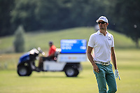 Sebastian Heisele (GER) during the second round of the Shot Clock Masters, played at Diamond Country Club, Atzenbrugg, Vienna, Austria. 08/06/2018<br /> Picture: Golffile | Phil Inglis<br /> <br /> All photo usage must carry mandatory copyright credit (&copy; Golffile | Phil Inglis)