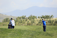 Adrien Saddier (FRA) during the second round of the Rocco Forte Sicilian Open played at Verdura Resort, Agrigento, Sicily, Italy 11/05/2018.<br /> Picture: Golffile | Phil Inglis<br /> <br /> <br /> All photo usage must carry mandatory copyright credit (&copy; Golffile | Phil Inglis)