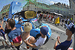 The publicity caravan during Stage 8 of the 104th edition of the Tour de France 2017, running 187.5km from Dole to Station des Rousses, France. 8th July 2017.<br /> Picture: ASO/Bruno Bade | Cyclefile<br /> <br /> <br /> All photos usage must carry mandatory copyright credit (&copy; Cyclefile | ASO/Bruno Bade)