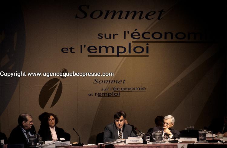 Le sommet economique de Montreal, Octobre 1996
