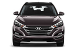 Car photography straight front view of a 2018 Hyundai Tucson Executive 5 Door SUV