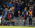 11.02.2019: Ross County v Inverness CT: Josh Mullin celebrates his last gasp goal for Ross County