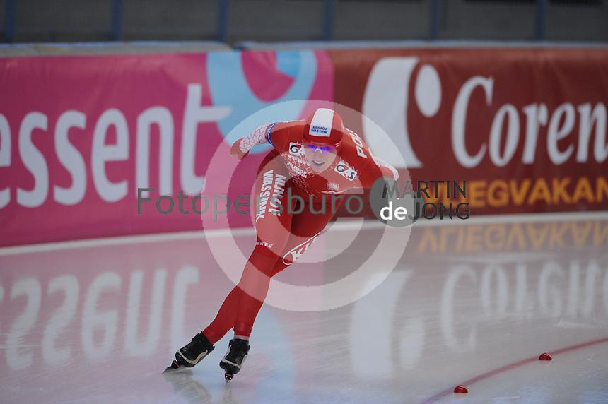 SCHAATSEN: INZELL: Max Eicher Arena, 10-02-2013, Essent ISU World Cup, Season 2012-2013, 3000m Ladies, B-division, Natalia Czerwonka (POL), ©foto Martin de Jong