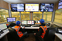 TO GO WITH STORY BY Arthur Beesley. DATE 8 FEB 2018. The Control Room of the Edger Line Balcas at Balcas Timber Ltd,  Laragh, Ballinamallard, Enniskillen Co. Fermanagh, Northern Ireland. Photo/Paul McErlane