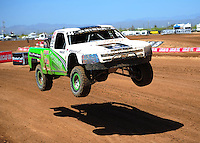Apr 15, 2011; Surprise, AZ USA; LOORRS driver Jeff Geiser (44) during round 3 and 4 at Speedworld Off Road Park. Mandatory Credit: Mark J. Rebilas-.