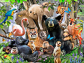 Howard, REALISTIC ANIMALS, REALISTISCHE TIERE, ANIMALES REALISTICOS, paintings+++++,GBHR865,#A#