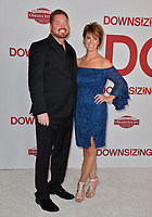 Tim Driscoll &amp; Andrea Driscoll at the special screening of &quot;Downsizing&quot; at the Regency Village Theatre, Westwood, USA 18 Dec. 2017<br /> Picture: Paul Smith/Featureflash/SilverHub 0208 004 5359 sales@silverhubmedia.com