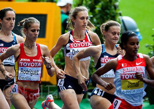 23 AUG 2009 - BERLIN, GER - Lisa Dobriskey (GBR) - Womens 1500m Final - World Athletics Championships .(PHOTO (C) NIGEL FARROW)