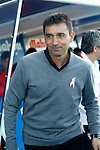 CD Leganes' coach Asier Garitano during La Liga match. October 15,2016. (ALTERPHOTOS/Acero)