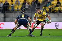 Hurricanes' Liam Mitchell in action during the Super Rugby - Hurricanes v Highlanders at Westpac Stadium, Wellington, New Zealand on Friday 8 March 2019. <br /> Photo by Masanori Udagawa. <br /> www.photowellington.photoshelter.com
