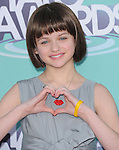 Joey King  at The 2011 TeenNick Halo Awards held at The Hollywood Palladium in Hollywood, California on October 26,2011                                                                               © 2011 Hollywood Press Agency