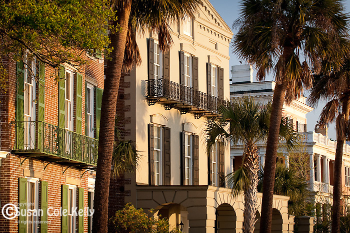 The Battery district,  Charleston, SC