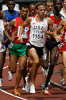 Alan Webb of the USA ran 3:40.73sec. in the 1st. round of the 1500m at the 11th. IAAF World Championships in Osaka, Japan on Saturday, August 25, 2007. Photo by Errol Anderson,The Sporting Image.