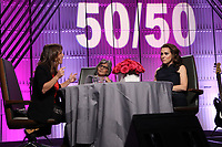LOS ANGELES, CA - NOVEMBER 1: Nicole Boxer, Barbara Boxer, Alyssa Milano, at TheWrap&rsquo;s  Power Women&rsquo;s Summit - Inside at the InterContinental Hotel in Los Angeles, California on November 1, 2018.   <br /> CAP/MPI/FS<br /> &copy;FS/MPI/Capital Pictures