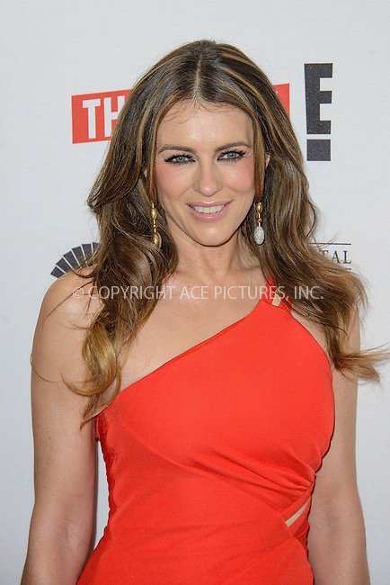WWW.ACEPIXS.COM<br /> <br /> March 24 2015, London<br /> <br /> Elizabeth Hurley attends the The UK TV Premiere of 'The Royals' at the Mandarin Oriental Hotel on March 24 2015 in London<br /> <br /> By Line: Famous/ACE Pictures<br /> <br /> <br /> ACE Pictures, Inc.<br /> tel: 646 769 0430<br /> Email: info@acepixs.com<br /> www.acepixs.com