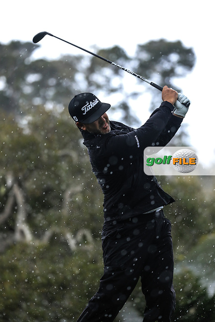Scott Piercy (USA) during the final round of the AT&T Pro-Am, Pebble Beach Golf Links, Monterey, USA. 10/02/2019<br /> Picture: Golffile | Phil Inglis<br /> <br /> <br /> All photo usage must carry mandatory copyright credit (© Golffile | Phil Inglis)