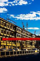 Beijing East Road, Tibet (Xizang), China.