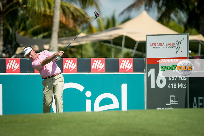 Gonzalo Fedz-Castano (ESP) during the 1st round of the AfrAsia Bank Mauritius Open, Four Seasons Golf Club Mauritius at Anahita, Beau Champ, Mauritius. 29/11/2018<br /> Picture: Golffile | Mark Sampson<br /> <br /> <br /> All photo usage must carry mandatory copyright credit (© Golffile | Mark Sampson)