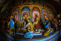 Wewurukannala Vihara (Buddhist temple), Dikwela, Southern Province, Sri Lanka.