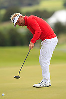 Soren Kjeldson (DEN) on the 3rd green during Round 4 of Made in Denmark at Himmerland Golf &amp; Spa Resort, Farso, Denmark. 27/08/2017<br /> Picture: Golffile | Thos Caffrey<br /> <br /> All photo usage must carry mandatory copyright credit     (&copy; Golffile | Thos Caffrey)