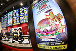 Staff of the new Carl's Jr. branch start to work for fist time during the pre-opening event for their first Japanese store located in Tokyo's Akihabara district, on March 2, 2016, Japan. The Californian fast food restaurant follows on the heels of Shake Shack in entering the Japanese market. Mitsuuroko Group Holdings Co., Ltd. has signed a franchise agreement to operate Carl's Jr. branches in Japan with the first to open to the public on March 4th. (Photo by Rodrigo Reyes Marin/AFLO)
