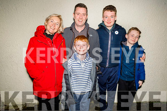Paudie O'Keeffe from Lixnaw celebrating his birthday in Bella Bia on Thursday.<br /> Standing to r:  Triona, Paudie, Tadgh, Ciaran and Ogie O'Keeffe.
