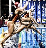 SIS Roma tuffo <br /> Roma 04-01-2019 Centro Federale  <br /> Final Six Pallanuoto Donne Coppa Italia Quarti di finale <br /> SIS Roma - Kally NC Milano<br /> Foto Andrea Staccioli/Deepbluemedia/Insidefoto