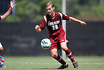 02 September 2012: Santa Clara's Michael Gates. The North Carolina State University Wolfpack defeated the Santa Clara University Broncos 2-1 at Koskinen Stadium in Durham, North Carolina in a 2012 NCAA Division I Men's Soccer game.