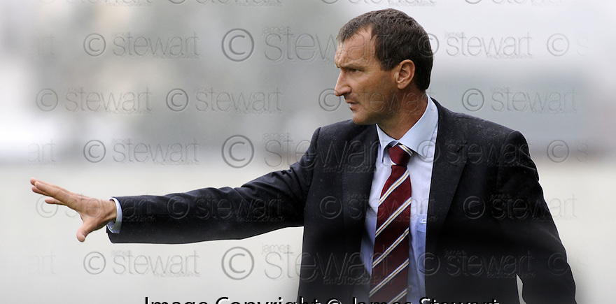 13/09/2008  Copyright Pic: James Stewart.File Name : sct_jspa18_falkirk_v_hearts.HEARTS MANAGER LAZLO WATCHES HIS TEAM GO DOWN 2-1 TO FALKIRK.James Stewart Photo Agency 19 Carronlea Drive, Falkirk. FK2 8DN      Vat Reg No. 607 6932 25.James Stewart Photo Agency 19 Carronlea Drive, Falkirk. FK2 8DN      Vat Reg No. 607 6932 25.Studio      : +44 (0)1324 611191 .Mobile      : +44 (0)7721 416997.E-mail  :  jim@jspa.co.uk.If you require further information then contact Jim Stewart on any of the numbers above........