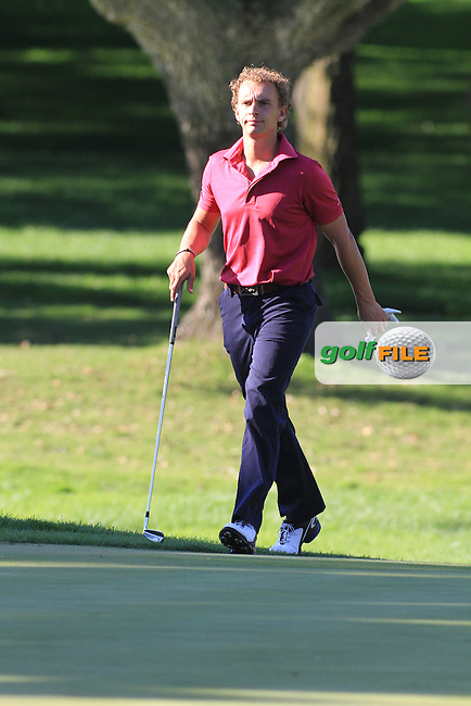 Joost Luiten (NED) during the 2nd day at the  Andalucía Masters at Club de Golf Valderrama, Sotogrande, Spain. .Picture Denise Cleary www.golffile.ie